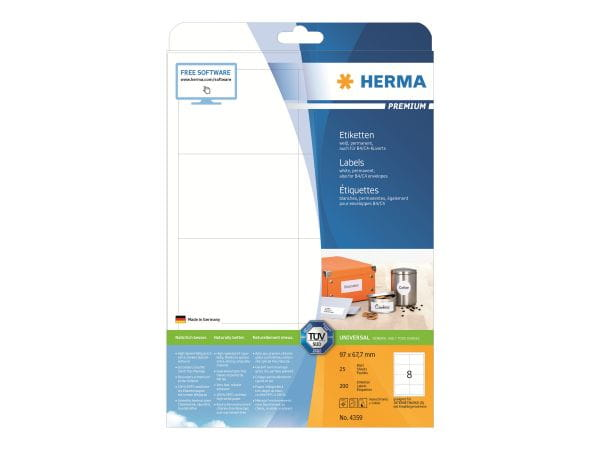 HERMA Papier, Folien, Etiketten 4359 1