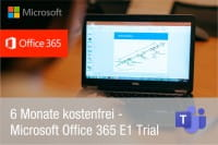 Microsoft Office 365 - 6 Monate kostenfrei