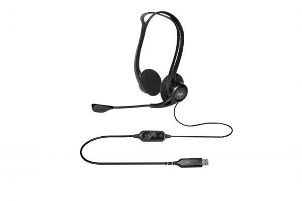 Logitech Headsets, Kopfhörer, Lautsprecher. Mikros 981-000100 2