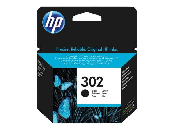 HP  Tintenpatronen F6U66AE#301 1