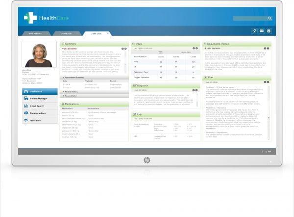 HP  TFT Monitore 3ME71AA#ABB 1