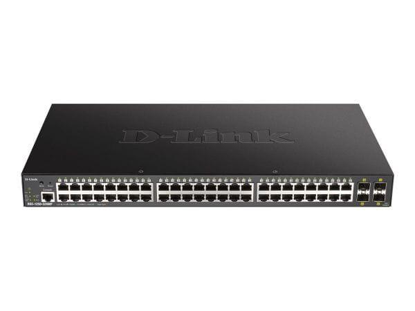 D-Link Netzwerk Switches / AccessPoints / Router / Repeater DGS-1250-52XMP 1