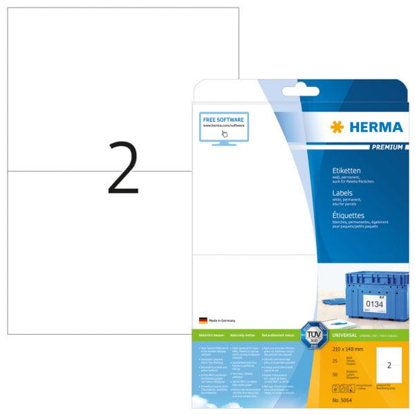 HERMA Papier, Folien, Etiketten 5064 5