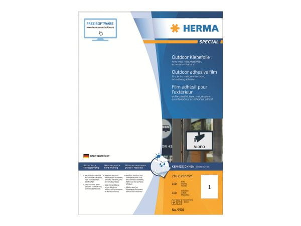 HERMA Papier, Folien, Etiketten 9501 1