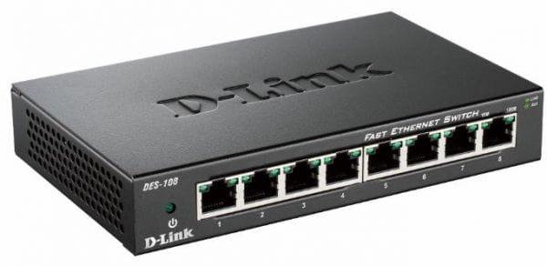 D-Link Netzwerk Switches / AccessPoints / Router / Repeater DES-108/E 2