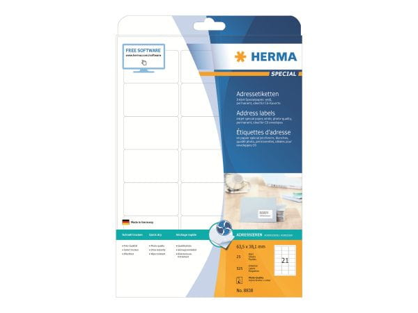 HERMA Papier, Folien, Etiketten 8838 1