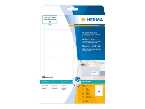 HERMA Papier, Folien, Etiketten 8842 1