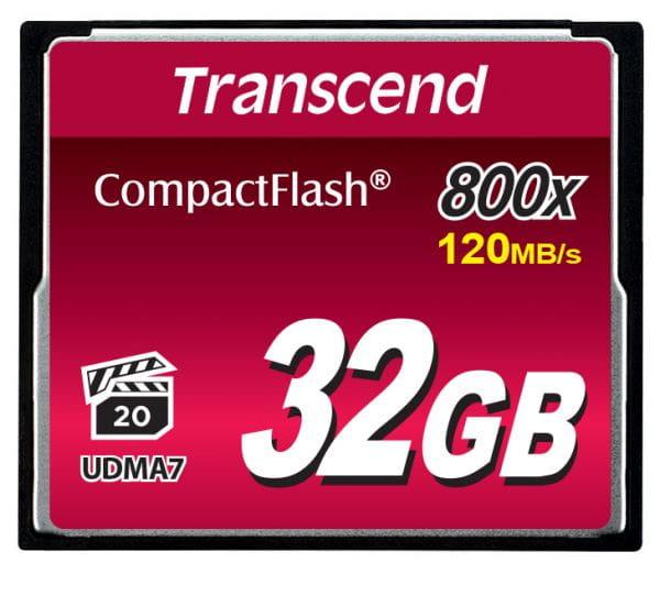 Transcend Speicherkarten/USB-Sticks TS32GCF800 2