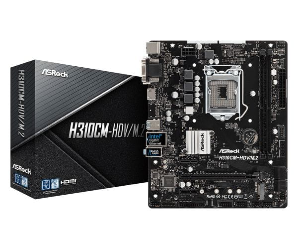 ASRock Mainboards H310CM-HDV/M.2 1
