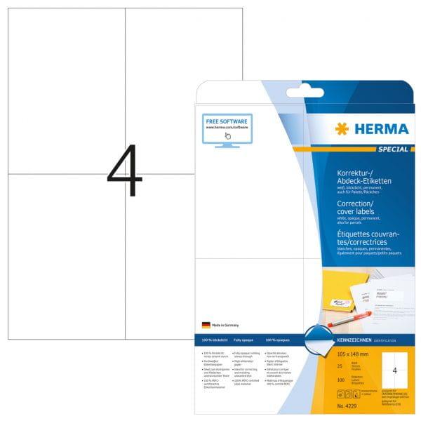 HERMA Papier, Folien, Etiketten 4229 4