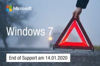 Windows 7 Support endet im Januar 2020