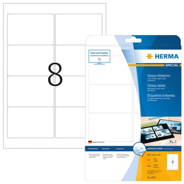 HERMA Papier, Folien, Etiketten 4907 3