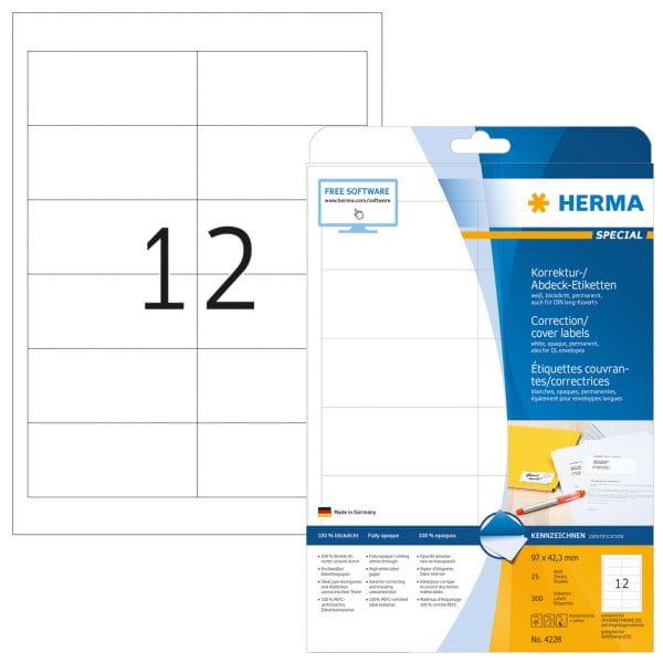 HERMA Papier, Folien, Etiketten 4228 5