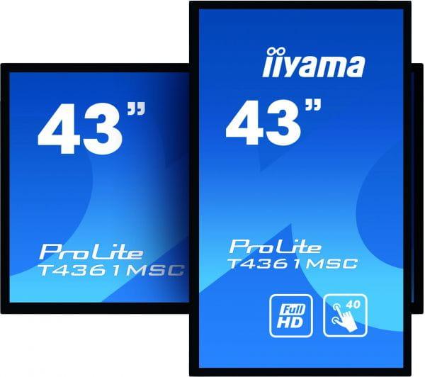 Iiyama TFT Monitore T4361MSC-B1 2