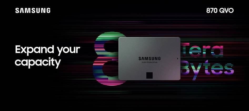 Samsung 870 QVO SSD