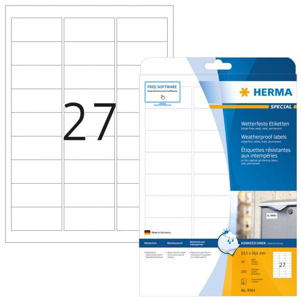 HERMA Papier, Folien, Etiketten 4864 4