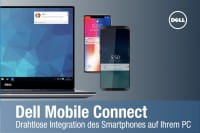 Dell Mobile Connect - Drahtlose Integration von Smartphone und PC
