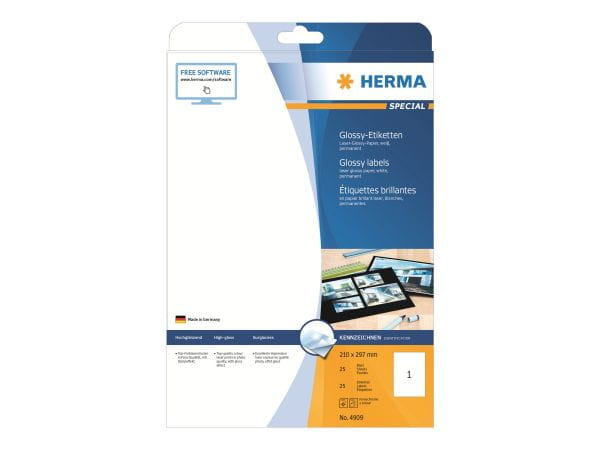 HERMA Papier, Folien, Etiketten 4909 1