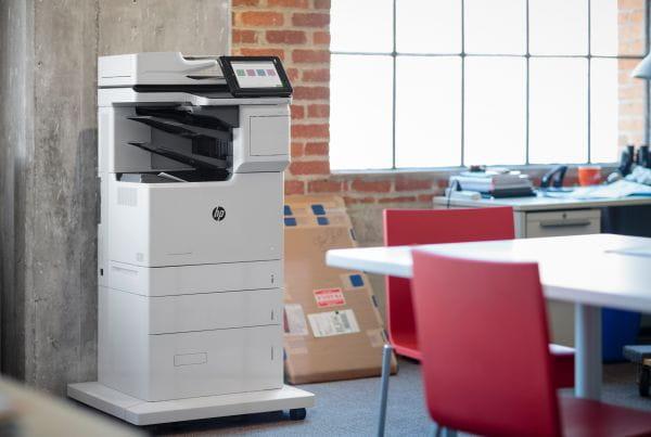 HP  Multifunktionsdrucker J8A17A#B19 2