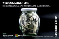 Satte HPE Cashbacks für Windows Server 2019 und HPE ProLiant Server DL160 und DL180