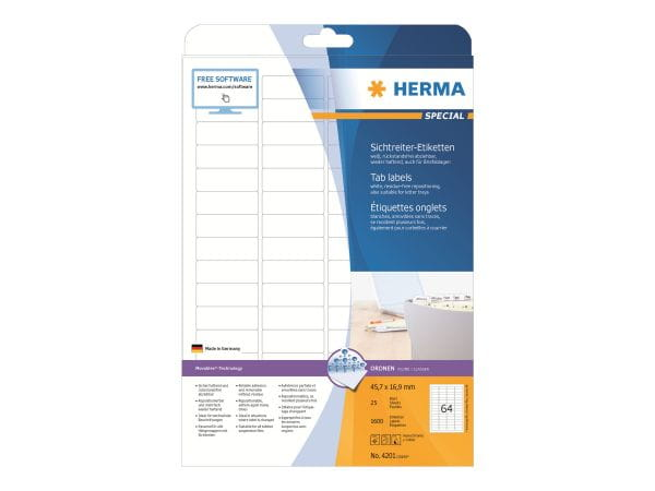 HERMA Papier, Folien, Etiketten 4201 1