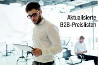 Aktualisierte Fachhändler- und B2B-Preislisten