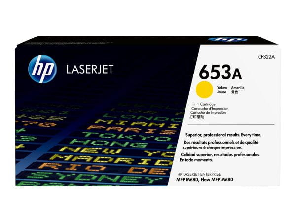 HP  Toner CF322A 1