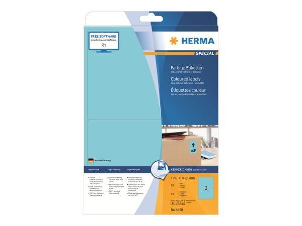 HERMA Papier, Folien, Etiketten 4498 1